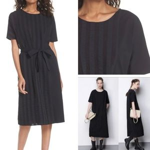 CAARA midi black Throwing Shade dress small